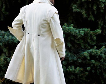 Clawhammer Military Overcoats---Custom Made with Optional Capes