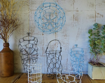 Instant Handmade Wire Basket Collection Two