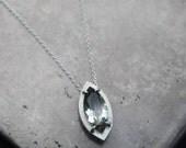 Belong…bi-quartz in sterling silver necklace