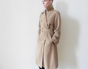 Camel Colored Trench Coat