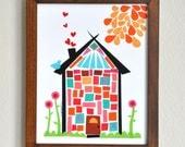 Home Sweet Home - 8x10 Fine Art Print by Megan Jewel