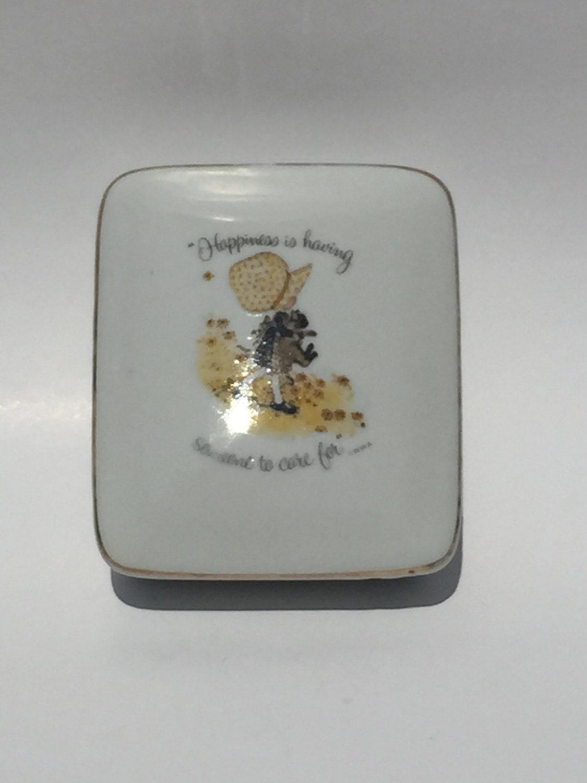 Vintage holly hobbie porcelain trinket box description holly hobbie reviewsmspy