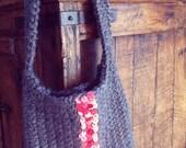 Aziza handbag - purse - knitting pattern - pdf