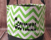 Personalized Halloween Bucket - Personalized Halloween Tote - Halloween Bucket - Halloween Bag