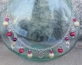 Treasure Keeper Necklace - Raspberry