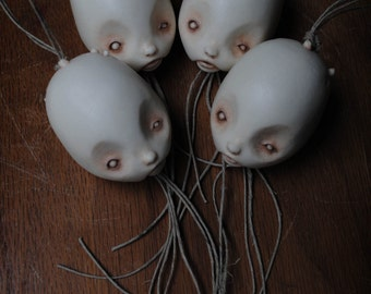sprouting tuber cast away ornaments