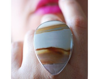 SOLD Open Sky Ring