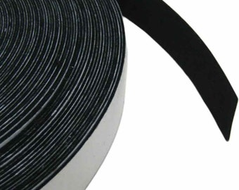 "Rayon Viscose Felt Tape - 100 Feet Long, 3/8"" to 2"" Widths, Multiple Colours Available"