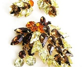 Continental Jewellery Amber Jonquil and Hyacinth Demi Parure