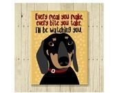 Dachshund Magnet, Wiener Dog, Doxie, Dog Magnet, Dog Lover Gift, Dachshund Gift, Fridge Magnet, Refrigerator Magnet, Sausage Dog Gift, Funny