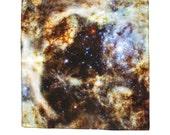 Tarantula Nebula Silk Pocket Square, Handkerchief