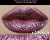 Lip Gloss-Sugar Babies Jojoba Lip Glaze-Cranberry-Pink Sugar Rush Flavor