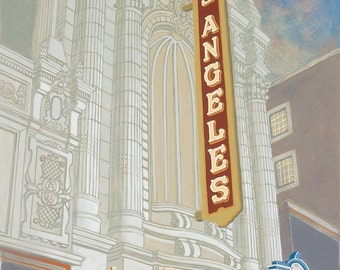 Los Angeles Theatre - Limited Edition Print