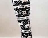 FREE SHIPPING for 2 !! Christmas Leggings, womens leggings, yoga Leggings,snowflake leggings,aztec leggings,skull leggings, printed leggings