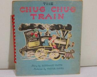 Vintage 1945 The Chug Chug Train Child's Book