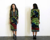 Panther Jacket and Skirt Suit / Tapestry 2 Piece Set / Jaguar Jacket