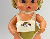 1971 Sweet April Baby Doll 3339 by REMCO, Movable Arms and Legs