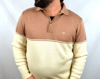 Vintage 80s OP Ocean Pacific Winter Sweater