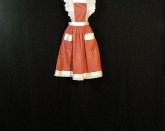 Pinafore Ruffled Apron Dress Lolita Cyber Dolly Rockabilly Chic SM