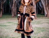 "RESERVED for brindalyn1 DEPOSIT Size Teen 10 ""Animal Instinct"" Deluxe Girls Pixie Coat."