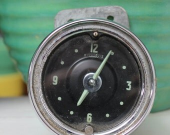 Vehicle Clock Automobile 1950s Car Steampunk VINTAGE by Plantdreaming