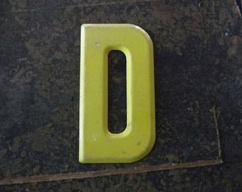 Vintage Letter D Steel Marquee Sign Metal Letter Signage -2-