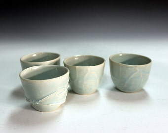 Porcelain tea bowls fine gifts chinese tea bowls shooters, party cups office gifts