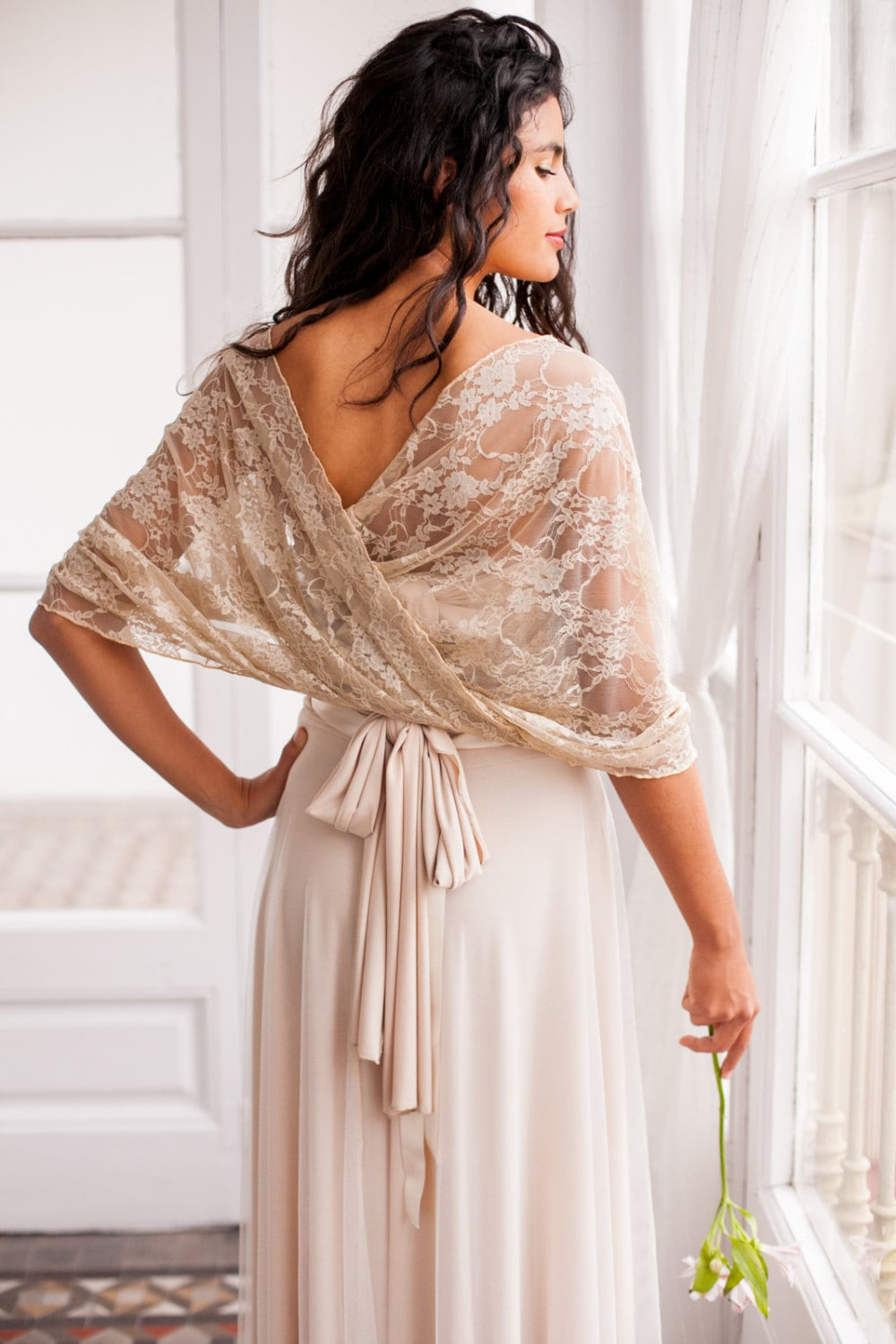 Wedding Shawl Wedding Lace Shawl Wedding Cover Up Lace