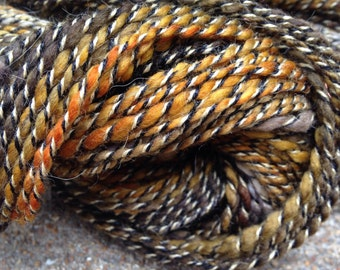 Merino Alpaca Silk Handspun Yarn - Monarch