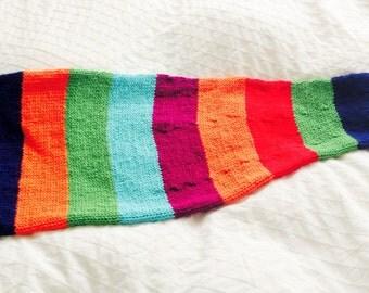 Rainbow Mermaid Tail Blanket, Child  Mermaid Blanket, Striped Mermaid Blanket, Toddler Rainbow Mermaid Tail Blanket, Fish Tail Blanket