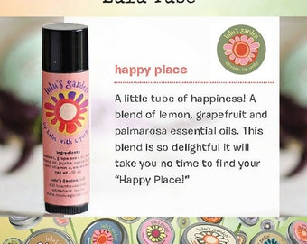 Lip Balm Tube, Grapefruit - Lemon, Gift for Pre-Teens, Stocking Stuffers, Small gift Ideas, Under 5 Dollar Gift