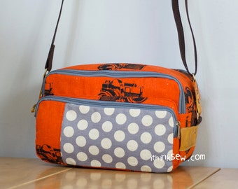 895 Eureka Camera Bag PDF Pattern