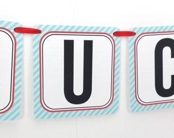 Name Banner - Made to Match Bowling Party Birthday Banner