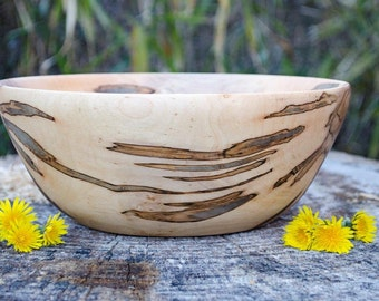 Wood Bowl, Maple Wood bowl, Maple Salad Bowl, Fruit Bowl, centerpiece, hand turned, Salad Bowl, Bowl, Kitche Ware, Table Decor, Maple Wood