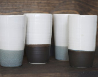 Two Tone Ceramic Tumblers