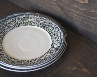 Hand Carved Ceramic Plates