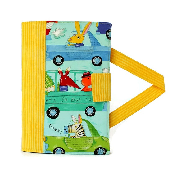 Animals In Cars Crayon Artist Case with option to add name, Art wallet, Crayon holder, Crayon wallet, Organizer, Crayons and paper included