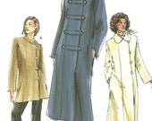 Vogue 7807 / Out Of Print Sewing Pattern / Jacket Coat / Sizes 14 16 18