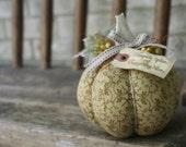 Fabric Pumpkin Spice