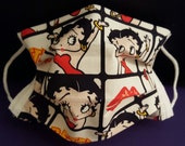 Betty Boop -Germ Freak Designer Face Mask by Dena Tyson