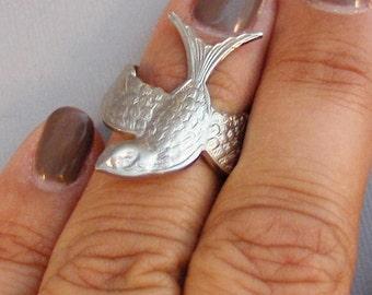 Sparrows Flight,Ring,Silver,Bird,Sparrow,Antique Ring,Silver Ring,Bird Ring,Woodland,Wedding,Sparrow,Sparrow Ring,Stacking Ring,Ring Set