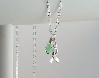 Light Green Awareness Necklace