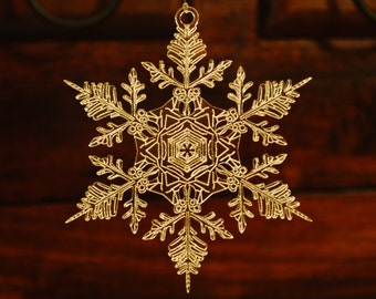 Handmade Acrylic Snowflake Ornament #2