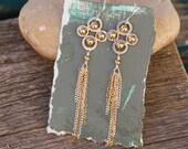 Moroccan Fringe Earrings