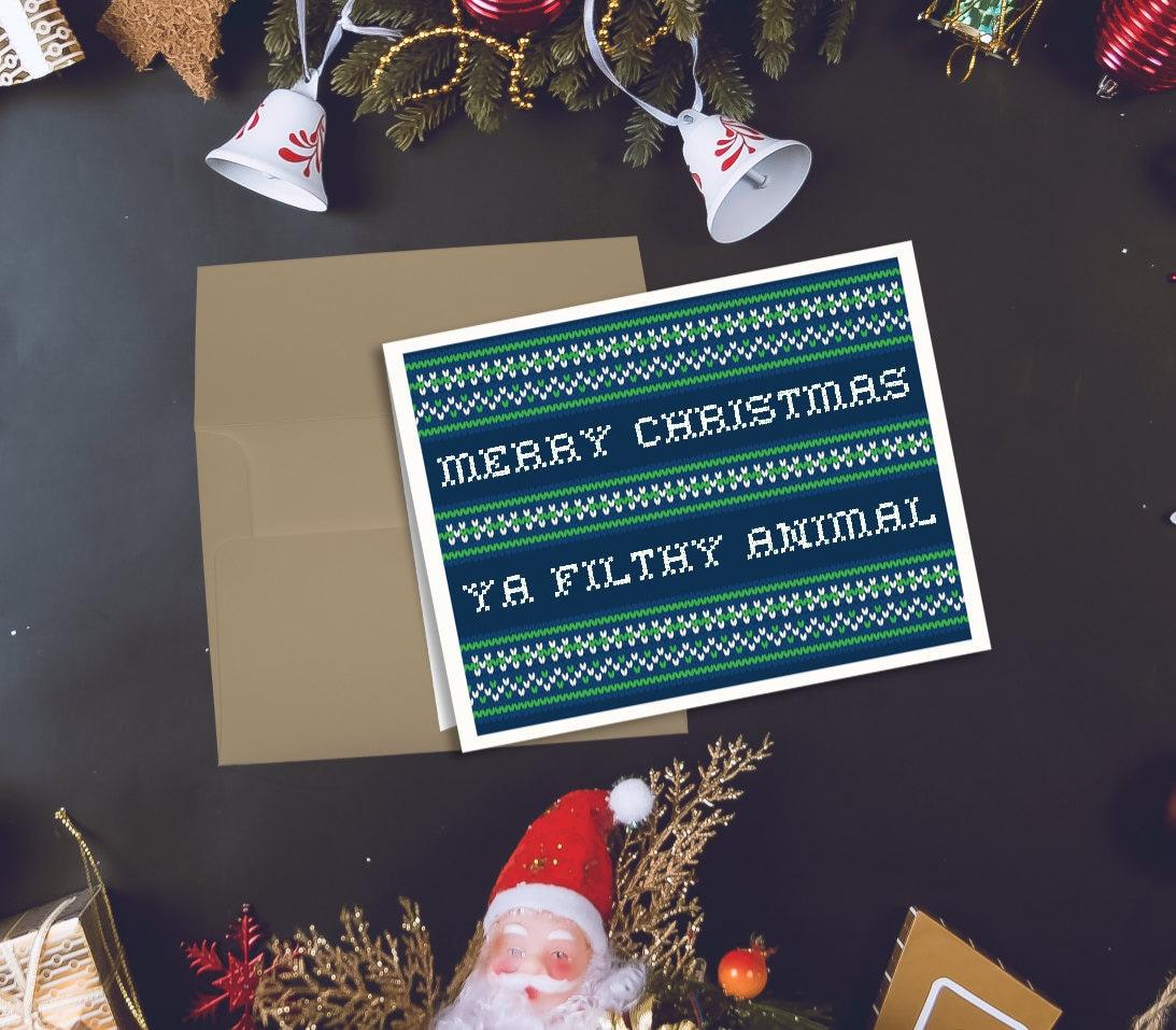 Home Alone Movie Christmas Card Merry Christmas Ya