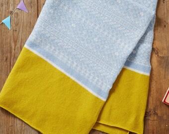 Tricot couverture bébé, couverture de Lange, couverture de réception, cadeau de shower de bébé, couverture pour bébé fille, couverture pour bébé garçon, couverture poussette, couverture
