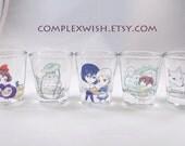 studio ghibli shot glass - 1.5oz
