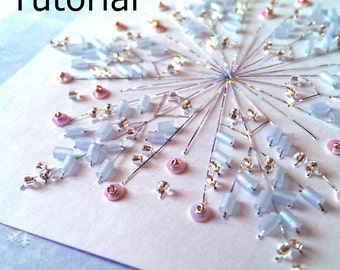 Bead Like a B.A.U.S. card embroidery pattern