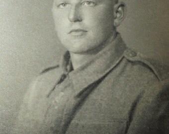 Vintage Photo - Man in Army Uniform