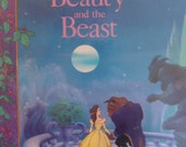 Beauty and the Beast Book Hardcover Disney Book